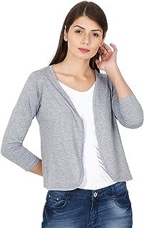 ECOLINE Clothing Eco-Friendly Women's 50/50 Blend Shrug