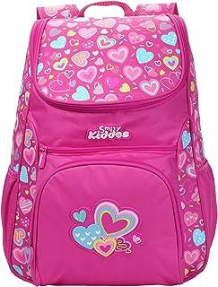 "Smily kiddos   Smily ""u"" Shape Backpack (Pink)   Kids Backpack   School Backpack   Backpack For Kids   Pink Color Backpack..."