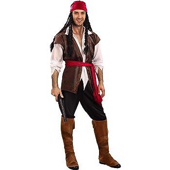 Vegaoo - Disfraz de Hombre Pirata - S: Amazon.es: Juguetes y juegos