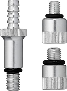 """Slippery Pete - Lower Unit Adapter Kit for Pumping Gear Oil into Outboard Boat Motors, 3/8"""" Swivel, 8mm and 10mm Adapters, Fits All Major Domestic and Import Outboard Motor Lower Unit Fill Hole"""