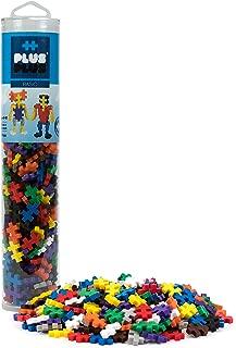 PLUS PLUS - Construction Building Toy, Open Play Tube - 240 Piece - Basic Color Mix