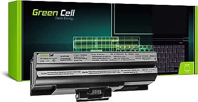 GC  Laptop Akku f r Sony Vaio VPCF13Z1E VPCF13Z1E B VPCF13Z1R VPCF13Z1R BI VPCF13Z8E  4400mAh 11 1V Schwarz