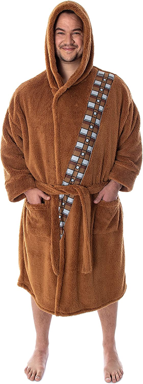 Recommendation Big and Tall Chewbacca Costume Robe Star Brown shipfree Plush Wars Adult