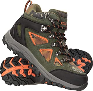 Mountain Warehouse Waterproof Kids Boots - Breathable Hiking Shoes