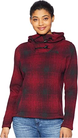 Rumba Red Ombre Plaid Small Print