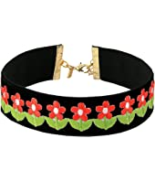 Vanessa Mooney - The Flower Power Choker Necklace
