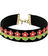 Vanessa Mooney - The Flower Power Choker Necklace