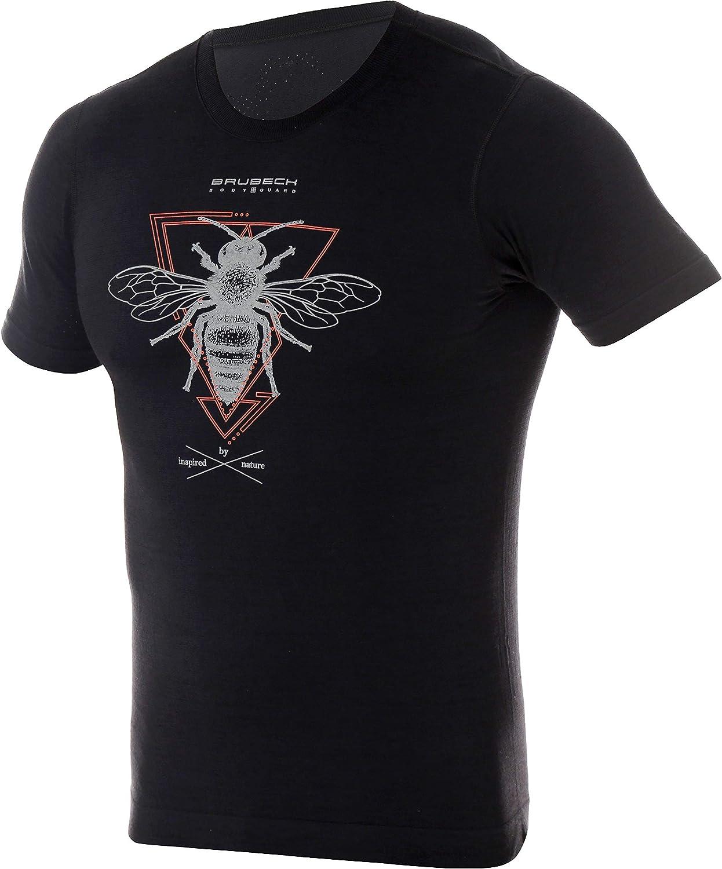 Maglietta tecnica da uomo a maniche corte BRUBECK SS12650