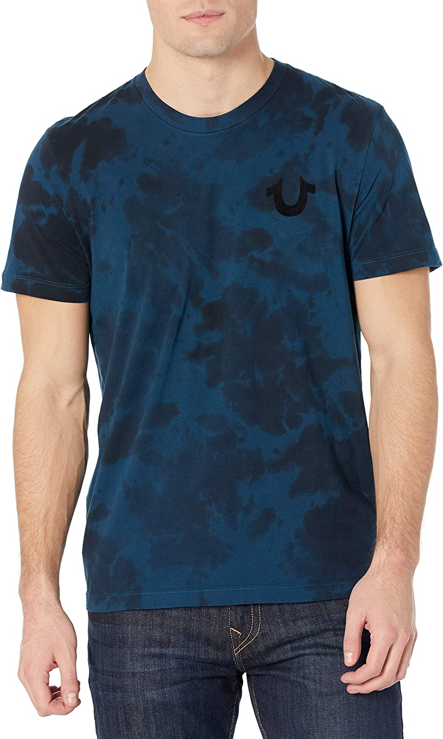 True Religion Men's Tour Short Neck Spring new work one after another Tee Crew Sleeve Max 66% OFF