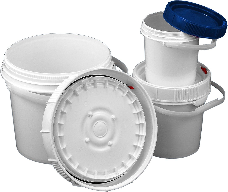 Screw Top Life latch Bucket Kit Set b 1 each: of 0.6 Austin Mall In stock gallon 3