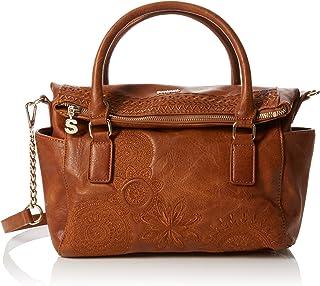 75b5e035121fe Desigual Women s Bols Dark Amber Loverty Handbag