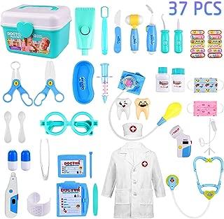 GVOO Juguetes Médicos,37 PSC Doctor Juguetes Maletín de M
