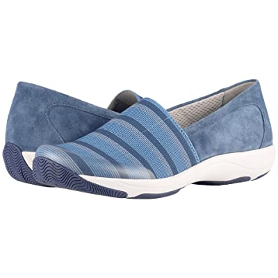 Dansko Harriet (Blue Stretch/Suede) Women