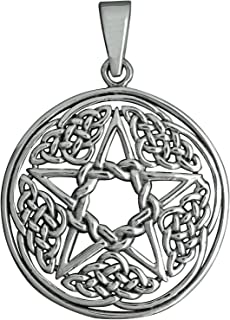 Croix Loup Valhalla Viking Pendentif Argent sterling 925/16.6/G Beldiamo