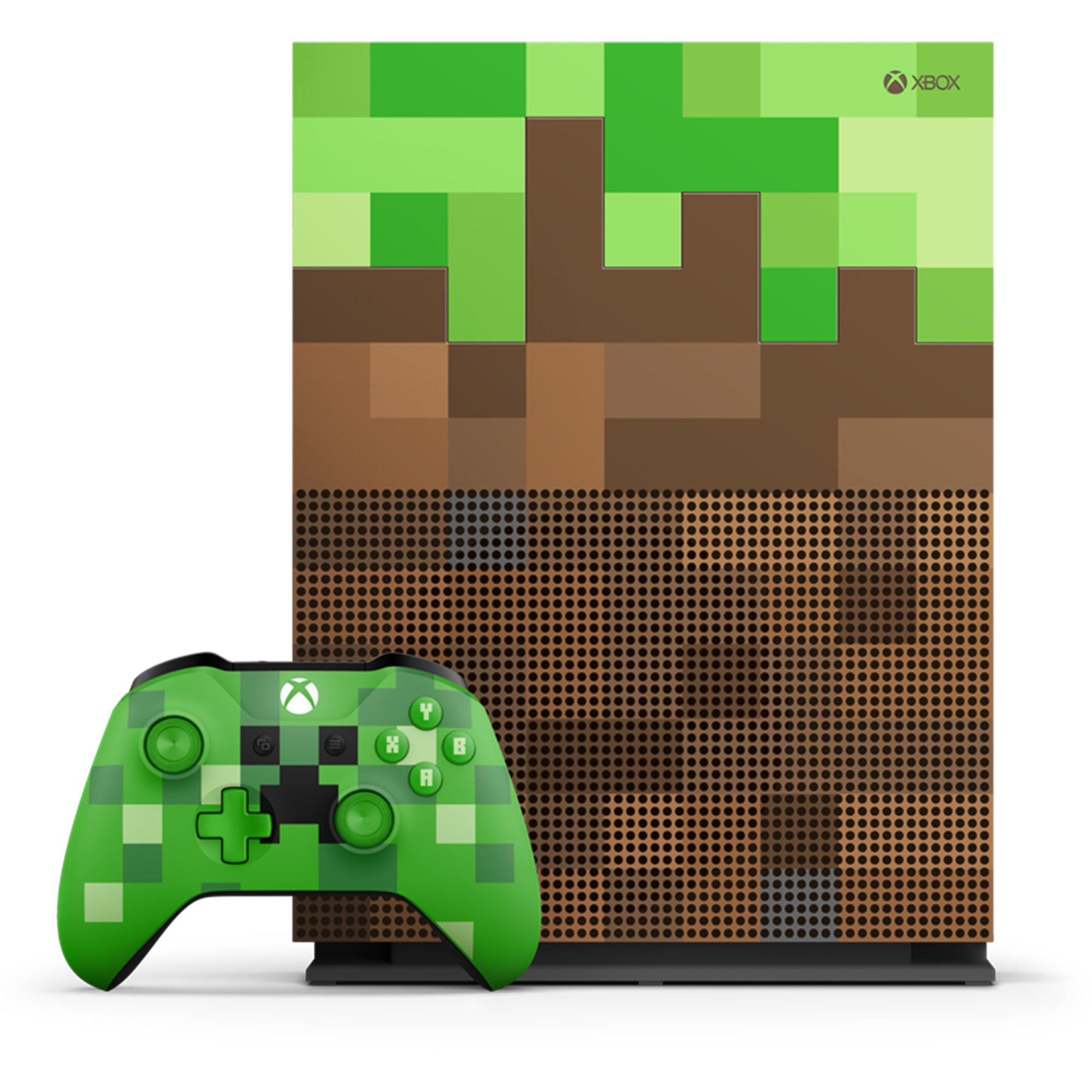 Microsoft Xbox One S 11Tb Limited Edition Console - Minecraft