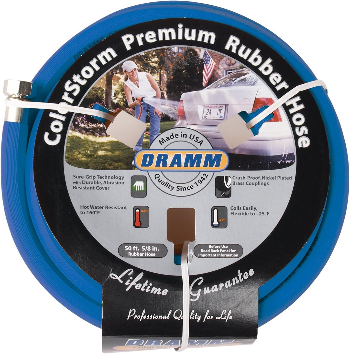 Dramm 17005 ColorStorm Rubber Cheap SALE Start Garden Detroit Mall Hose 8