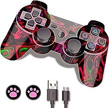 PS3 Controller Wireless, PS3 Remote, CFORWARD Wireless...