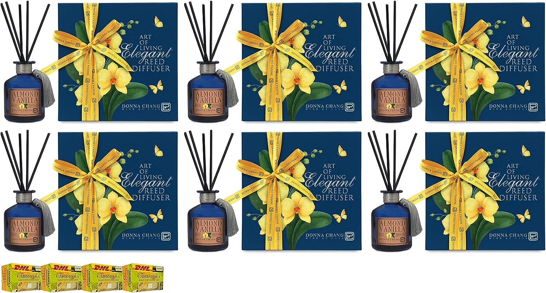 Donna Chang Healthy Organic Almond Vanilla Reed Diffuser 200Ml S