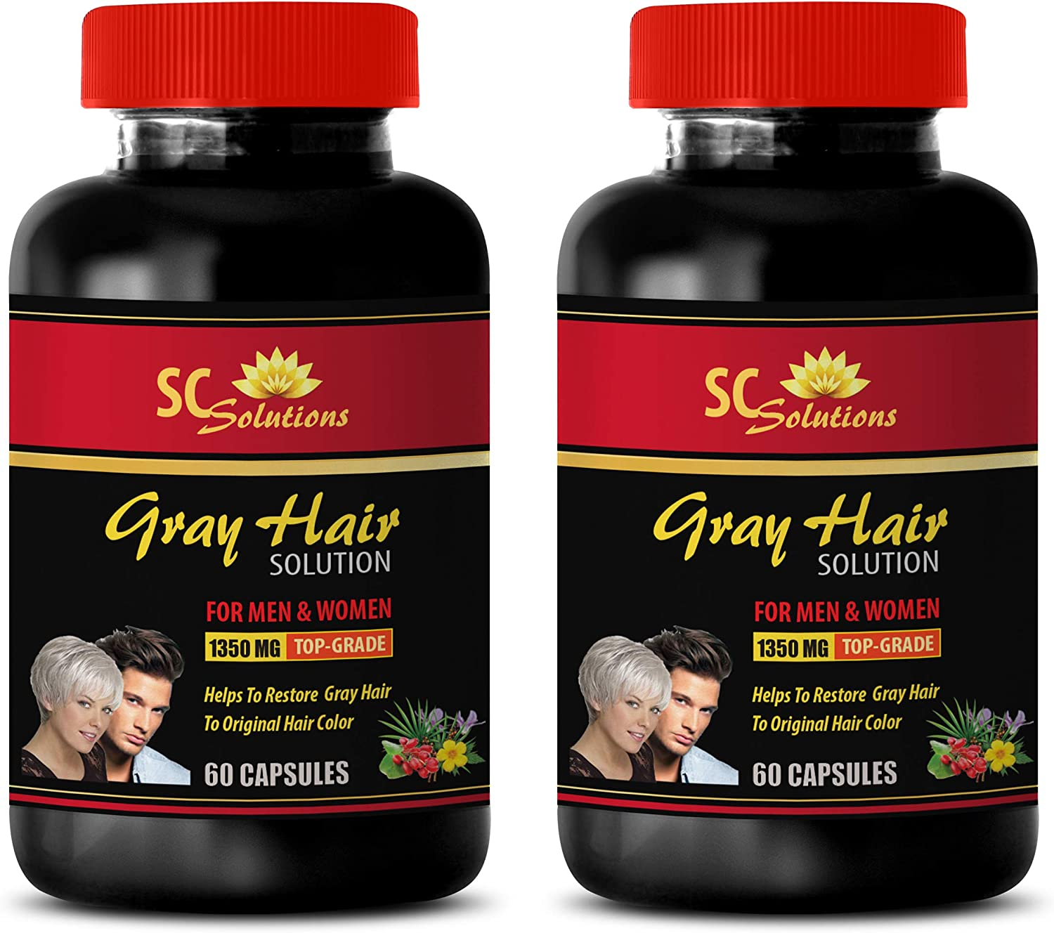 Anti-Aging Blend - Anti-Gray Hair Women Solution Ranking TOP17 and for Men Popularity