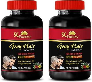 chlorella gray hair