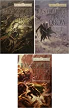Forgotten Realms - The Hunter's Blade Trilogy (Legend of Drizzt) Hardcover Set: Thousand Orcs / Lone Drow / Two Swords