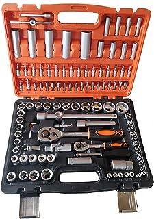 Maletín de Herramientas 108 piezas con llaves de vaso
