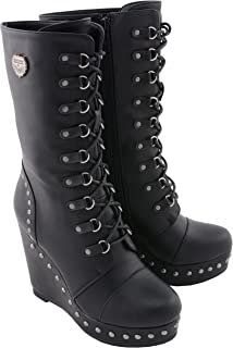 Milwaukee Performance Women's Lace Front Boot (Black, 6)