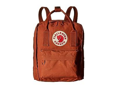 Fjallraven Kanken Mini (Brick) Backpack Bags