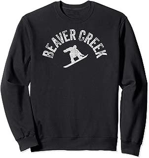 Beaver Creek Snowboard Vintage Snowboarder Retro Pro Wear CO Sweatshirt