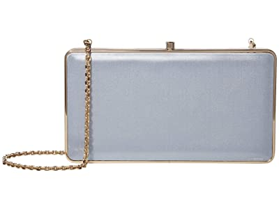 Salvatore Ferragamo Evening Clutch (Blue Haze) Handbags