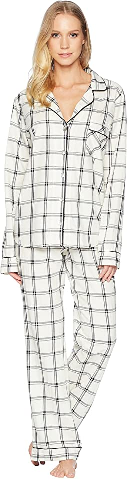Raven Plaid PJ Set