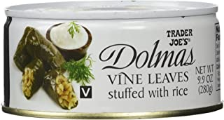 Trader Joe's Dolmas Vine Leaves Stuffed with Rice (Pack of 2)