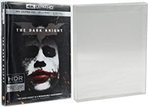Malko Blu-ray 4k UHD Slipcover and PS3 Games Protector Case - Clear Plastic Protective Sleeve (10 Pack)