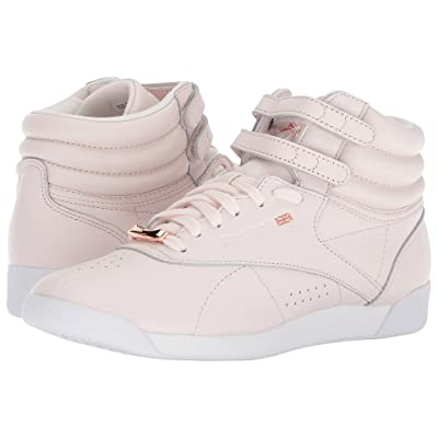 Reebok Lifestyle Freestyle Hi Muted (Pale Pink/White/Cool Shadow) Women