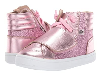 Old Soles O-Glam Shoe (Toddler/Little Kid) (Glam Pink/Pink Frost) Girl
