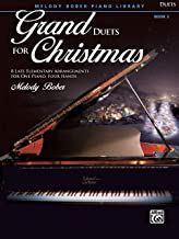 Grand Duets for Christmas, Bk 3: 8 Late Elementary Arrangements for One Piano, Four Hands (Grand Duets for Piano)