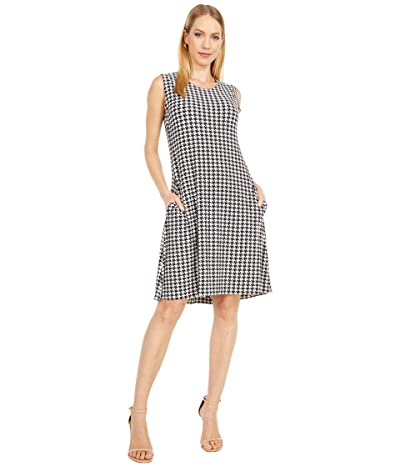 KAMALIKULTURE by Norma Kamali Sleeveless Swing Dress (Large Check) Women