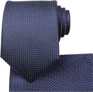blue tie white spots