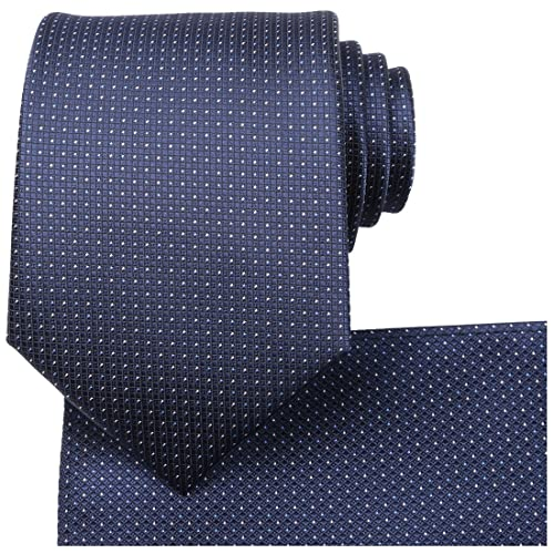 b6f909a03359 KissTies Ties for Men Solid Color Necktie Checkered Pattern + Gift Box