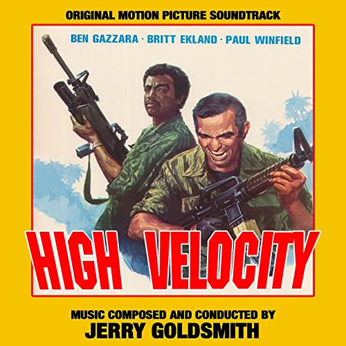 High Velocity - Original Soundtrack Recording by Jerry Goldsmith, National  Philharmonic Orchestra on Amazon Music - Amazon.com