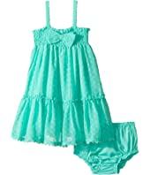 Kate Spade New York Kids Clip Dot Sundress Set (Infant)