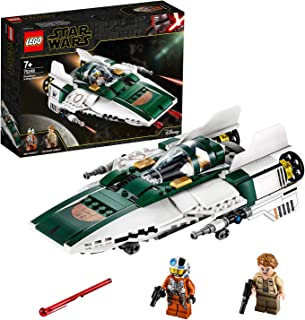 LEGO Star Wars 75248 Resistance A-Wing Starfighter Battle Starship Building Kit (269 Pieces)