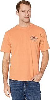 قميص Quiksilver رجالي قصير الأكمام مطبوع عليه CABIN FEVER