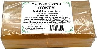 Honey - 2 Pound Melt and Pour Soap Base - Our Earth's Secrets