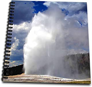 3dRose Old Faithful Geyser Yellowstone National Park-Memory Book, 12 by 12