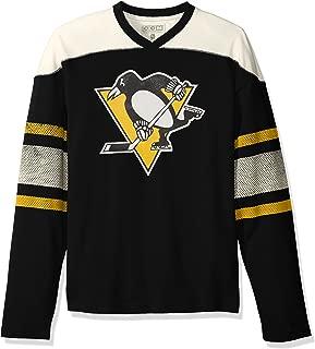 adidas NHL Mens CCM L/S Applique Crew