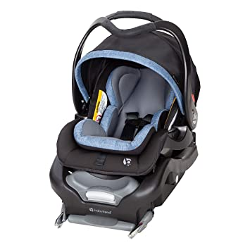 Baby Trend Secure Snap Tech 35 Infant Car Seat, Chambray , 16.5x16.25x28.5 Inch (Pack of 1): image