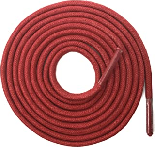 red boot shoelaces