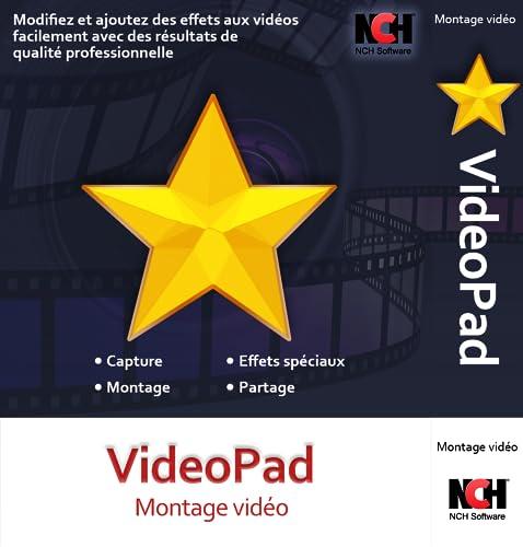 VideoPad - Logiciel de montage vidéo version gratuite [Téléchargement]