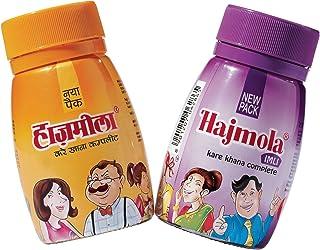Dabur Hajmola Regular & Imli (Tamarind) Digestive 120 Tablets 66g - (Hajmola - The tasty 'Fun-Filled' Digestive) Combo Pack 2 in 1 by Dabur